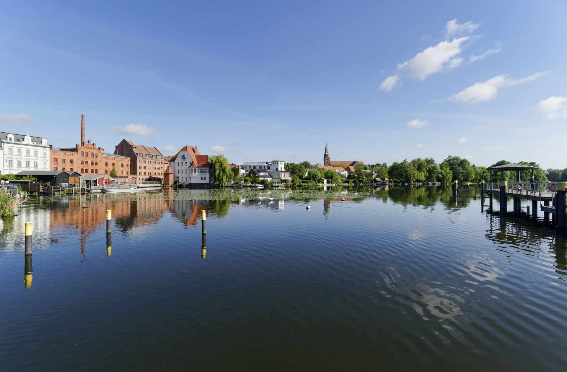 Dominsel in Brandenburg an der Havel © Ulf Boettcher